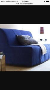 IKEA Lycksele sofa bed cover -BLUE - Like NEW! Canada Bay Canada Bay Area Preview