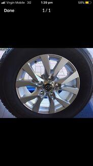 Brand new land cruiser 200 series wheels sahara