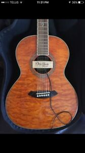 Gorgeous fender acoustic Guitar with pick up