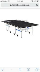 Deluxe Ping Pong Table Tennis Table