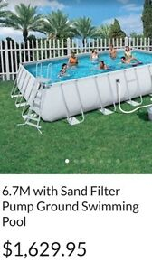 Bestway above ground pool 6.71by366 Granville Parramatta Area Preview