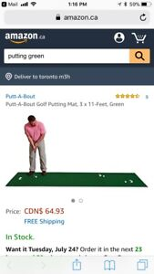 11 for putting green