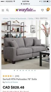 Brand new gorgeous couch!