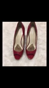 ALDO WEDGES - Red Size 8