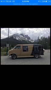 Classic camper van ; moving need gone !