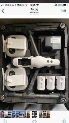 dji inspire 1 Dual Remote 3x T47 Batteries X3 Camera Upgrade Fast Charger