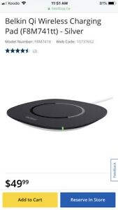 Belkin phone charging pad