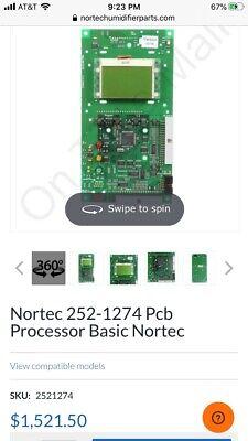 Nortec 252-1274 Pcb Processor Basic Nortec Used Working