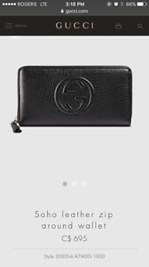Authentic Gucci soho wallet.