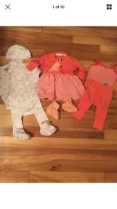 MEXX and GAP LOT of 10 for baby girl 0-3 Months