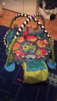 Infantino grow with me activity gym & ball pit.