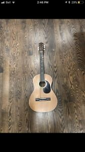 Real Wood Acoustic Guitar (Needs To Be Re-Strung)