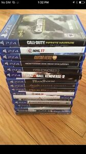 PS4 games - controller - accessories - systems