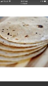 Homemade chapati(Indian bread)