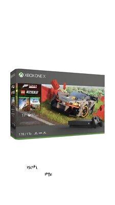 Xbox One X 1TB Console,  Forza 4 and Lego Speed Bundle - Microsoft Xbox Black