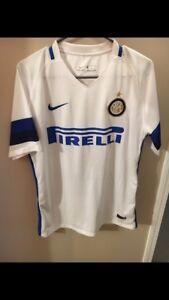 Inter Milan white soccer jersey