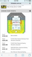 Chris Brown SOLD OUT TICKETS! Brisbane 8A - amazing seat! Casuarina Kwinana Area Preview