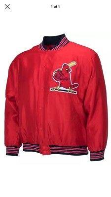 NEW St Louis Cardinals 80's Theme Night Jacket 9/14 SGA ADULT Large!