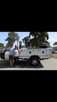 Ezytrail lincoln camper trailer