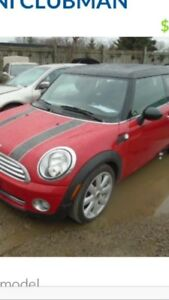 Mini Cooper clubman 2009 AS IS!