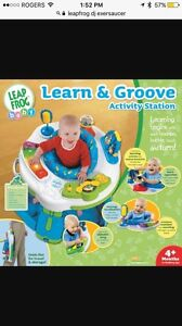 GUC Leap Frog Learn and Groove Activity Station Exersaucer