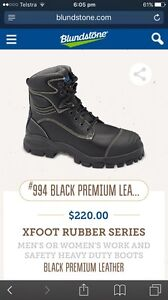 Blundstone black leather boots Baldivis Rockingham Area Preview
