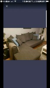 Structube Kennedy sectional sofa