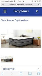 Queen size mattress, Silent Partner Capri Medium (brand) Albert Park Charles Sturt Area Preview