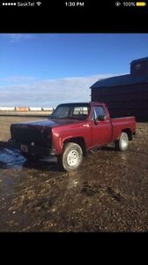 1979 Chevy short box 4x4