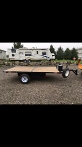 12x7 flatbed