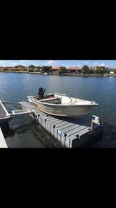 3m stessl rat pack tinny  & 15hp Mercury US outboard motor Helensvale Gold Coast North Preview