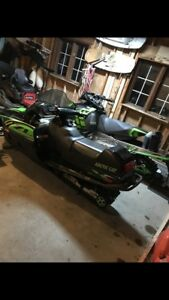 2000 ZL 550 Artic Cat Snowmobile
