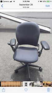 STEELCASE LEAP VERSION 1 CHAIRS 13 REMAINING