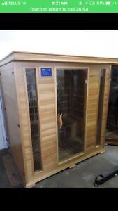 Sauna carbon filter technology !