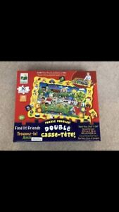 Learning Journey Find it Friends Giant Puzzle and Game in one