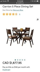 """50"""" Round Dining Table"""