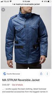 Reversible winter jacket