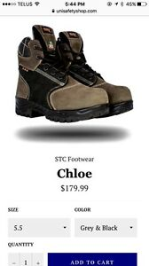 Woman work boots for sale - New