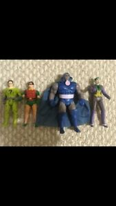 Vintage Dc super powers action figures