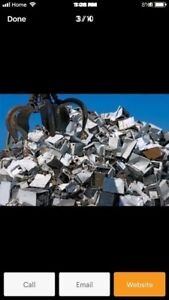 Scrap metal removal services