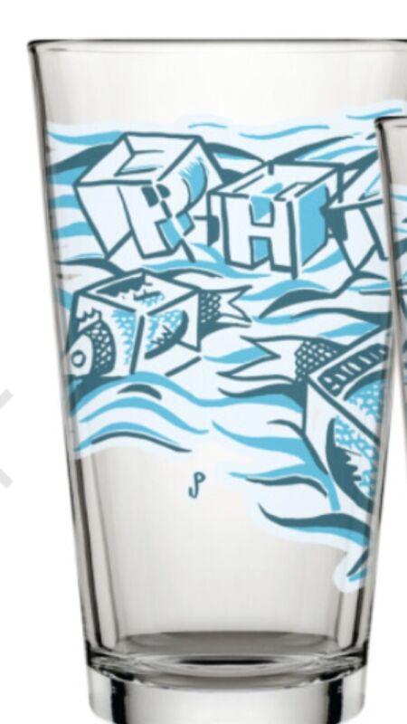 Phish Jim Pollock Ice Cube Pint Glass