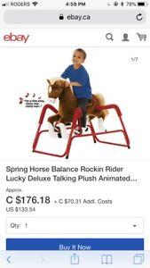 Rockn rider pony.