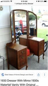 Antique vanity from 1930's