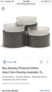 Grey Scentsy Accord Warmer - never used