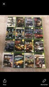 Jeux Xbox Premiere Generation a Vendre 5$ Chaque !