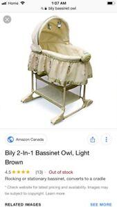 Bily owl bassinet