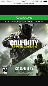 Call of duty infinite/modern legacy edition