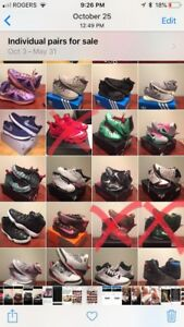 Sneaker collection for sale!  Adidas,Jordan's, Nike  size 12/13