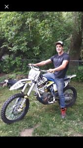 2014 fc 450 Husqvarna Trade for newer skidoo only