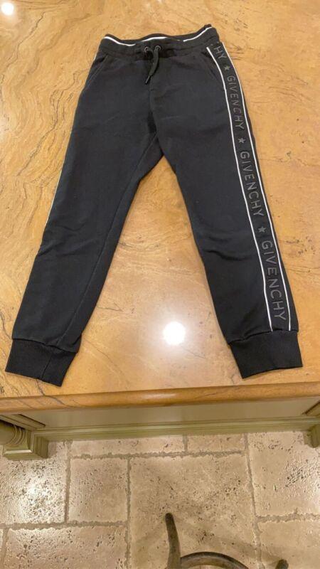 Kids Black Givenchy Sweatpants